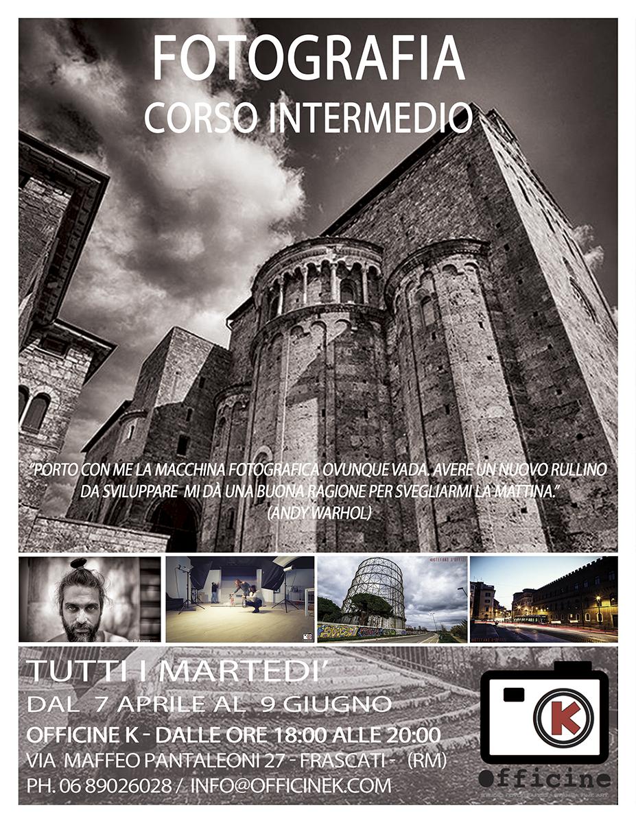 Fotografia – Corso Intermedio, nuova classe in partenza ad Aprile